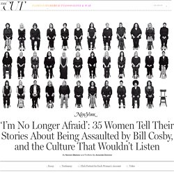 35 Bill Cosby Accusers Tell Their Stories