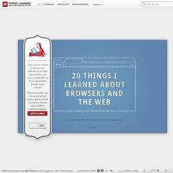 20 cose che ho imparato sui browser e sul Web