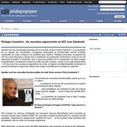 EduAnat2 : De nouvelles opportunités en SVT