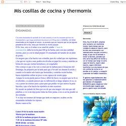 Mis cosillas de cocina y thermomix: ENSAIMADAS