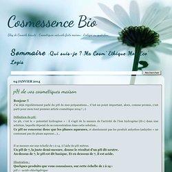 pH de vos cosmétiques maison