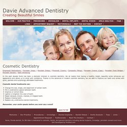 Cosmetic Dentist In Davie, Fort Lauderdale FL
