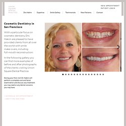 Cosmetic Dentist San Francisco