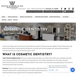 Enhance Your Appearance With Cosmetic Dentistry
