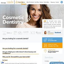 Professional Cosmetic Dentist At Chicago Smile Design