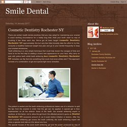 Smile Dental: Cosmetic Dentistry Rochester NY