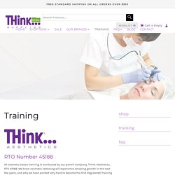 Accredited Cosmetic Tattoo Course