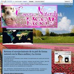Blog de Cosmética Natural Lissy: Retrasa el envejecimiento de tu piel de forma natural con la Maca andina y La Avena