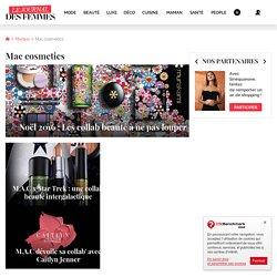 Mac cosmetics : tous les articles le Journal des Femmes