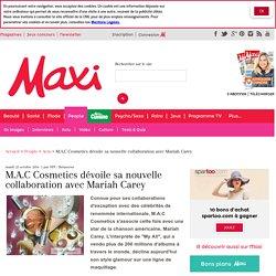 M.A.C Cosmetics dévoile sa nouvelle collaboration avec Mariah Carey