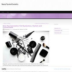 One Two Cosmetics Full Eyelashes; Stylish and Comfortable