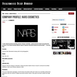 NARS Cosmetics Company Information