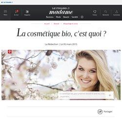 La cosmétique bio, c'est quoi ? - Madame Figaro