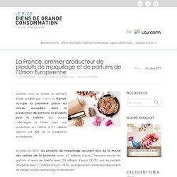 Industrie Cosmétique: la France 1er producteur
