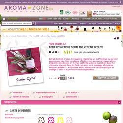 Actif cosmétique Squalane végétal d'Olive