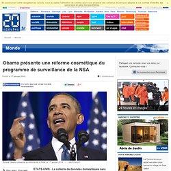 Obama présente une réforme cosmétique du programme de surveillance de la NSA