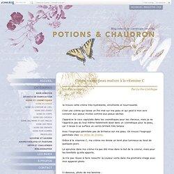 Crème visage peau mature à la vitamine C - Potions et Chaudron