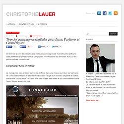 Top des campagnes digitales Luxe, Parfums et Cosmétiques