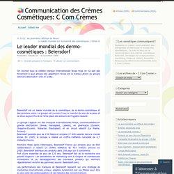 Le leader mondial des dermo-cosmétiques : Beiersdorf