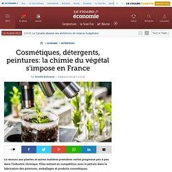 Cosmétiques, détergents, peintures: la chimie du végétal s'impose en France