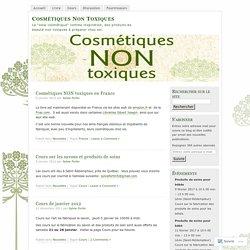"""La """"slow cosmétique"""" comme inspiration, des produits de beauté non toxiques à préparer chez soi."""