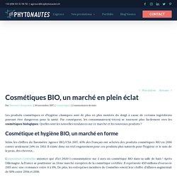 Cosmétiques BIO, un marché en plein éclat - Les Phytonautes