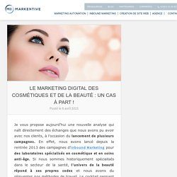 Cosmetique + marketing