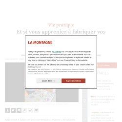 Et si vous appreniez à fabriquer vos cosmétiques « maison » à la médiathèque d'Ambert (Puy-de-Dôme) ? - Ambert (63600)