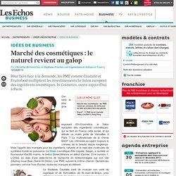 Marché des cosmétiques: le naturel revient au galop