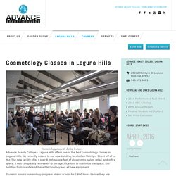 Cosmetology Classes Laguna Hills