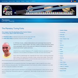 Cosmic Octave and Planetary Tuning Forks