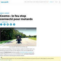 Cosmo : le feu stop connecté pour motards