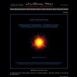 Théorie de l'univers cyclique
