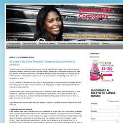 Belleza y estilo cosmopolita: El analisis de Color Personal- Secretos para aumentar tu atractivo