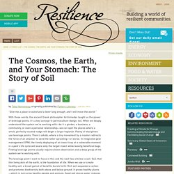 The Cosmos, the Earth, and Your Stomach: The Story of Soil