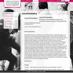 Laurent Cosnefroy — Éducation Cultures Politiques