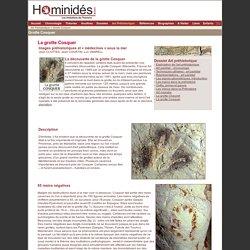 Cosquer - grotte - Art préhistorique