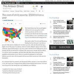 The cost of child poverty: $500 billion a year
