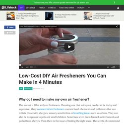 Low-Cost DIY Air Fresheners You Can Make In 4 Minutes