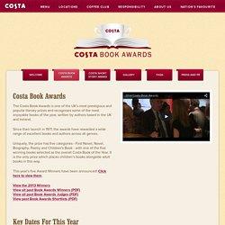 Costa Book Awards - Costa Coffee