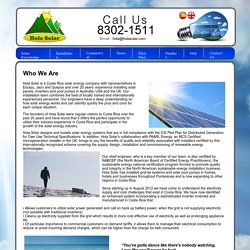 Top Costa Rica Solar Energy Installer - About Us
