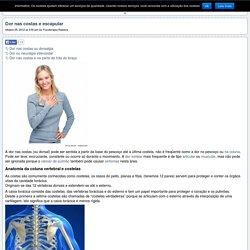 Dor nas costas, torácica ou na coluna dorsal