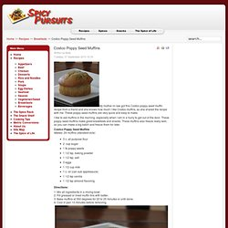 Costco Poppy Seed Muffins
