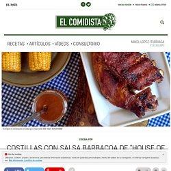 """Costillas con salsa barbacoa de """"House of Cards"""""""