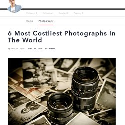 6 Most Costliest Photographs In The World