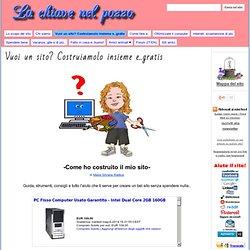 Vuoi un sito? Costruiamolo insieme e..gratis - La chiave nel pozzo