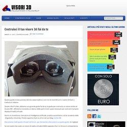 Costruisci il tuo visore 3d Fai da te » Visori 3D - Realtà Virtuale con Oculus Rift, Project Morpheus