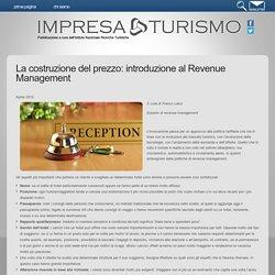 La costruzione del prezzo: introduzione al Revenue Management