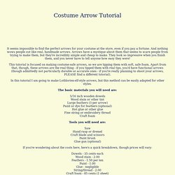 Costume Arrow Tutorial