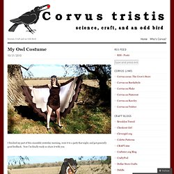 Corvus tristis: Science, Craft and an Odd Bird